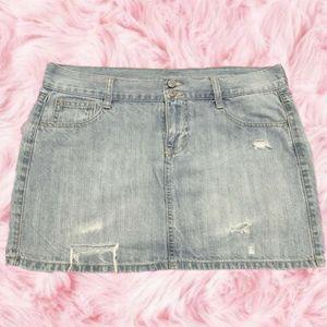 Old Navy Mini Jean Skirt OOAK